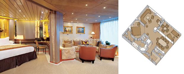 Zaandam holland america line for Piani cabina personalizzati