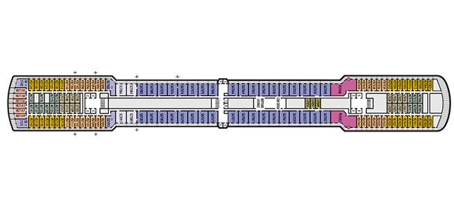 Holland America Rotterdam Deck Plan